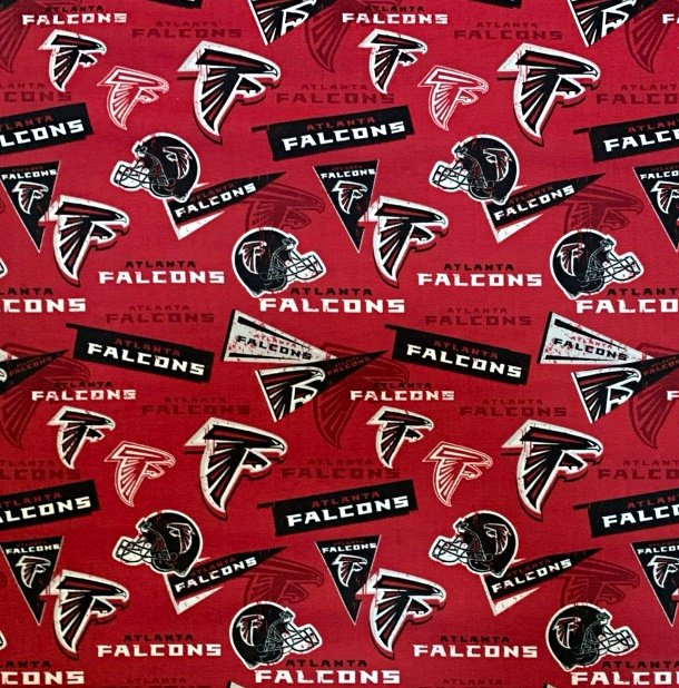NFL Logo Atlanta Falcons 70320 Red 45