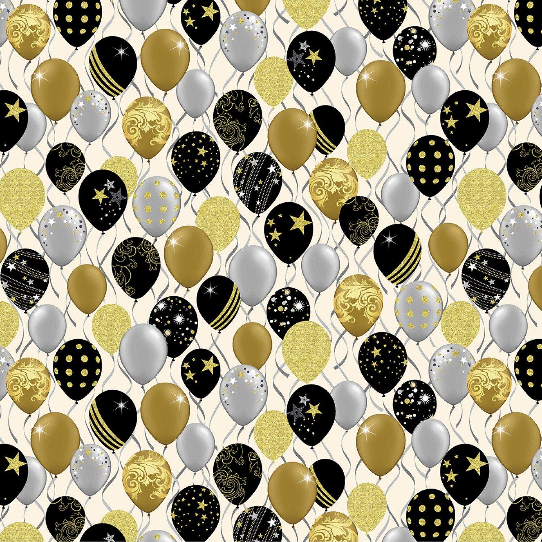 Balloons Metallic/White 8384 M 09