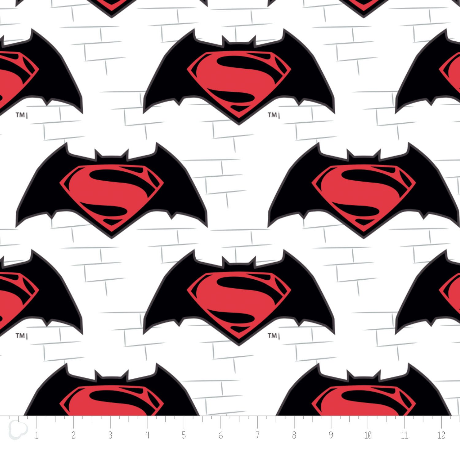 Batman VS Superman Logo in White 23420106 1