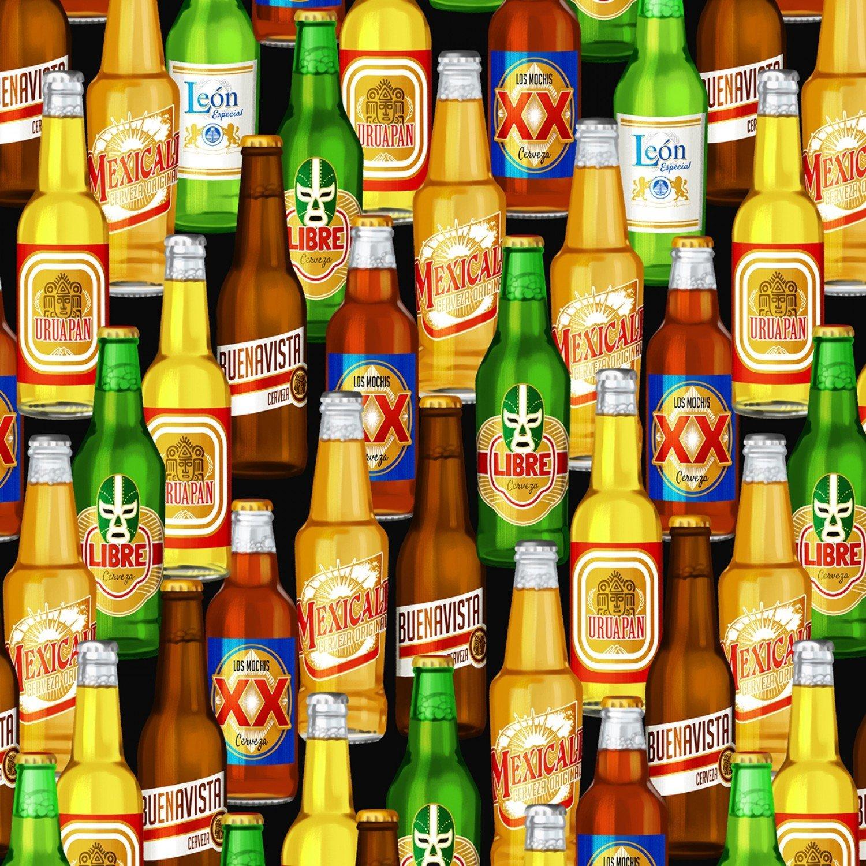 Beer Bottles C6956 Black