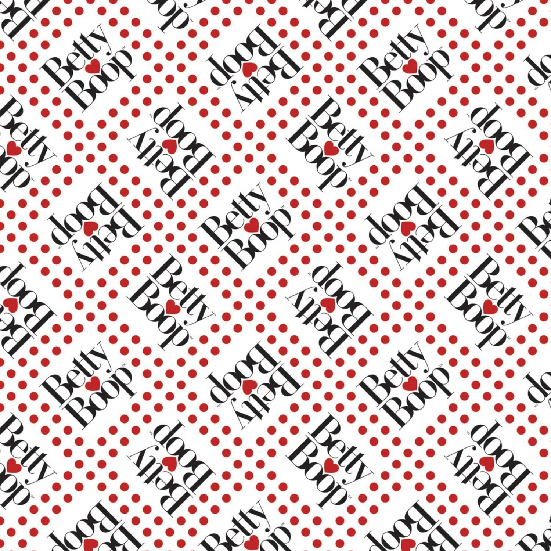 Betty Boop 45100305-1 White Logo