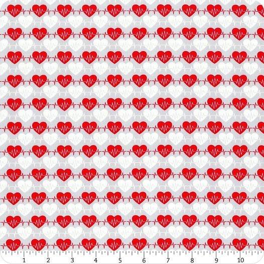 Big Hugs 9329-90 Grey Heartbeat