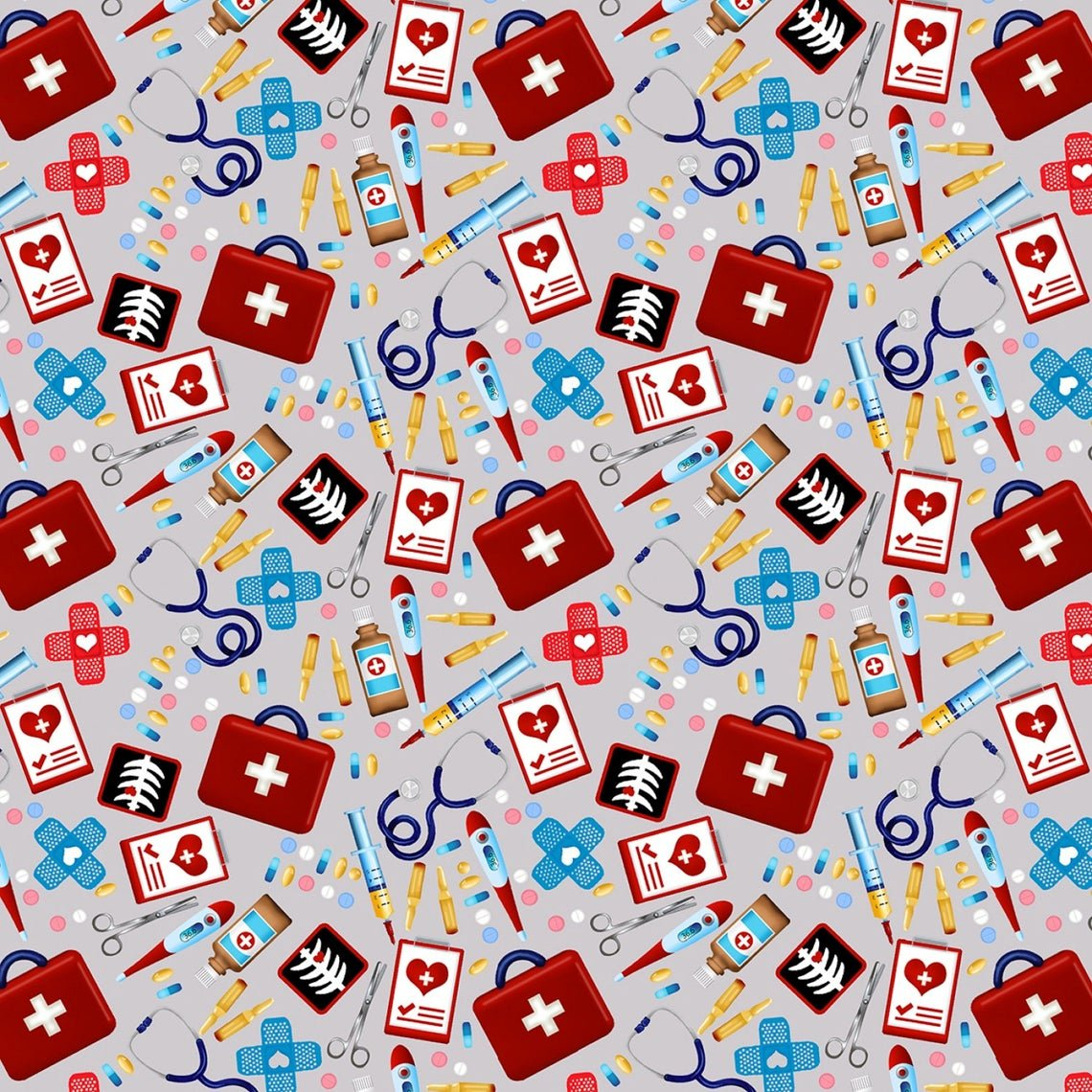 Big Hugs 9322-90 Grey First Aid Kit
