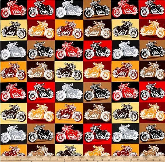 Biker for Life 26017-R Patches Red