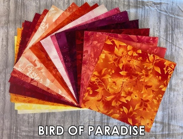 Boundless Bird of Paradise 42 Piece 10 Layer Cake