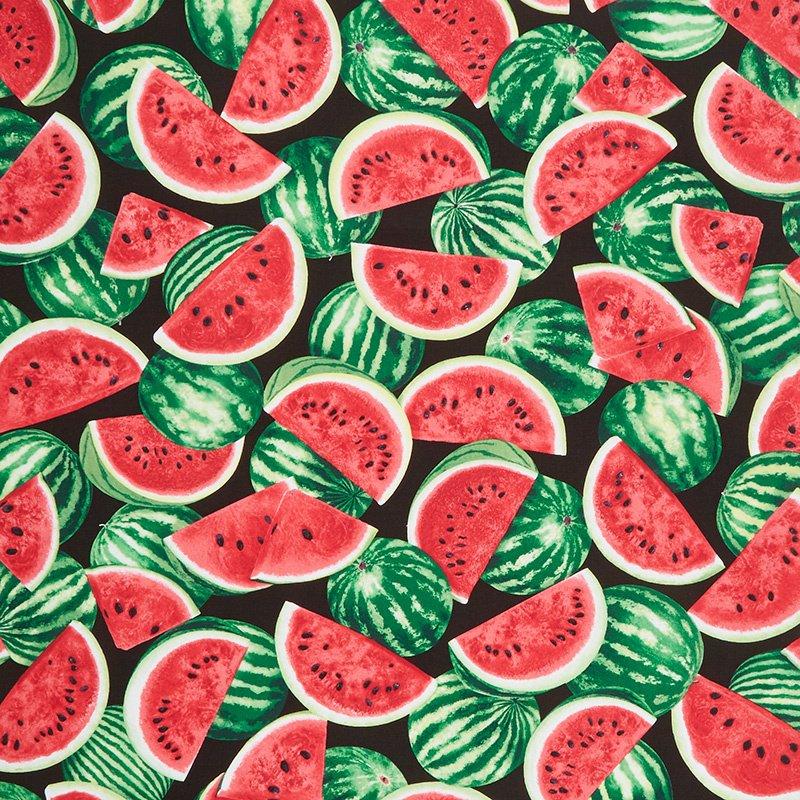 Watermelon Slice C7964 Toss Black
