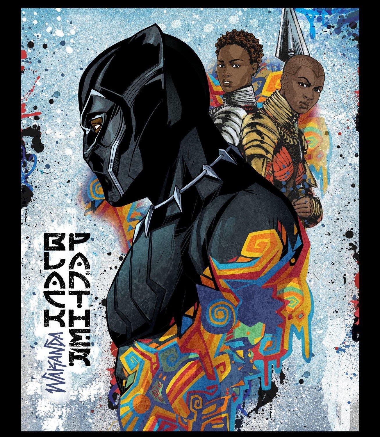 Black Panther 67594 Panel