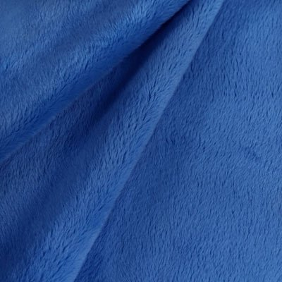 Minky Softee Fleece Solid Blue #5902