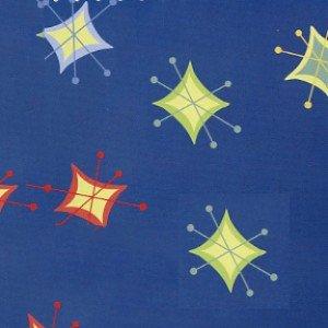 END OF BOLT Flannel F7540-1 Stars Blue - .36 YD