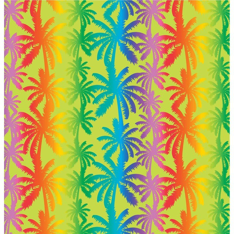Tropical Breeze 9716 Breezy Palm Trees Lime