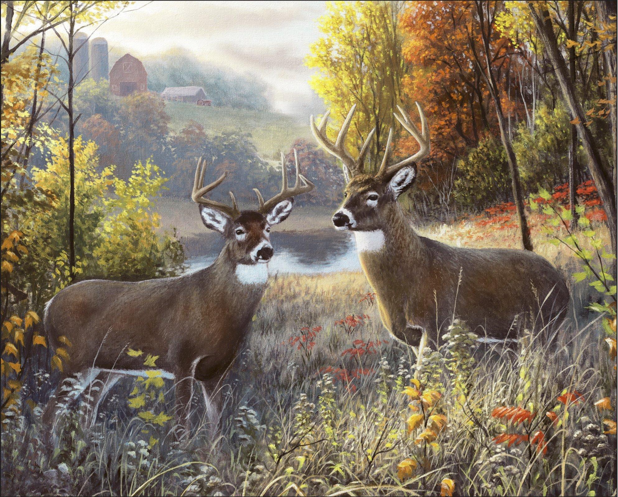 Deer Buck Brothers 3908 Panel