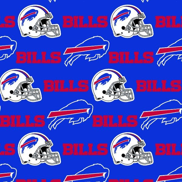 NFL Logo Buffalo Bills 6377 Blue