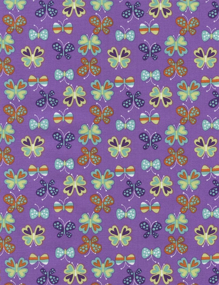 Butterflies C3357 Purple