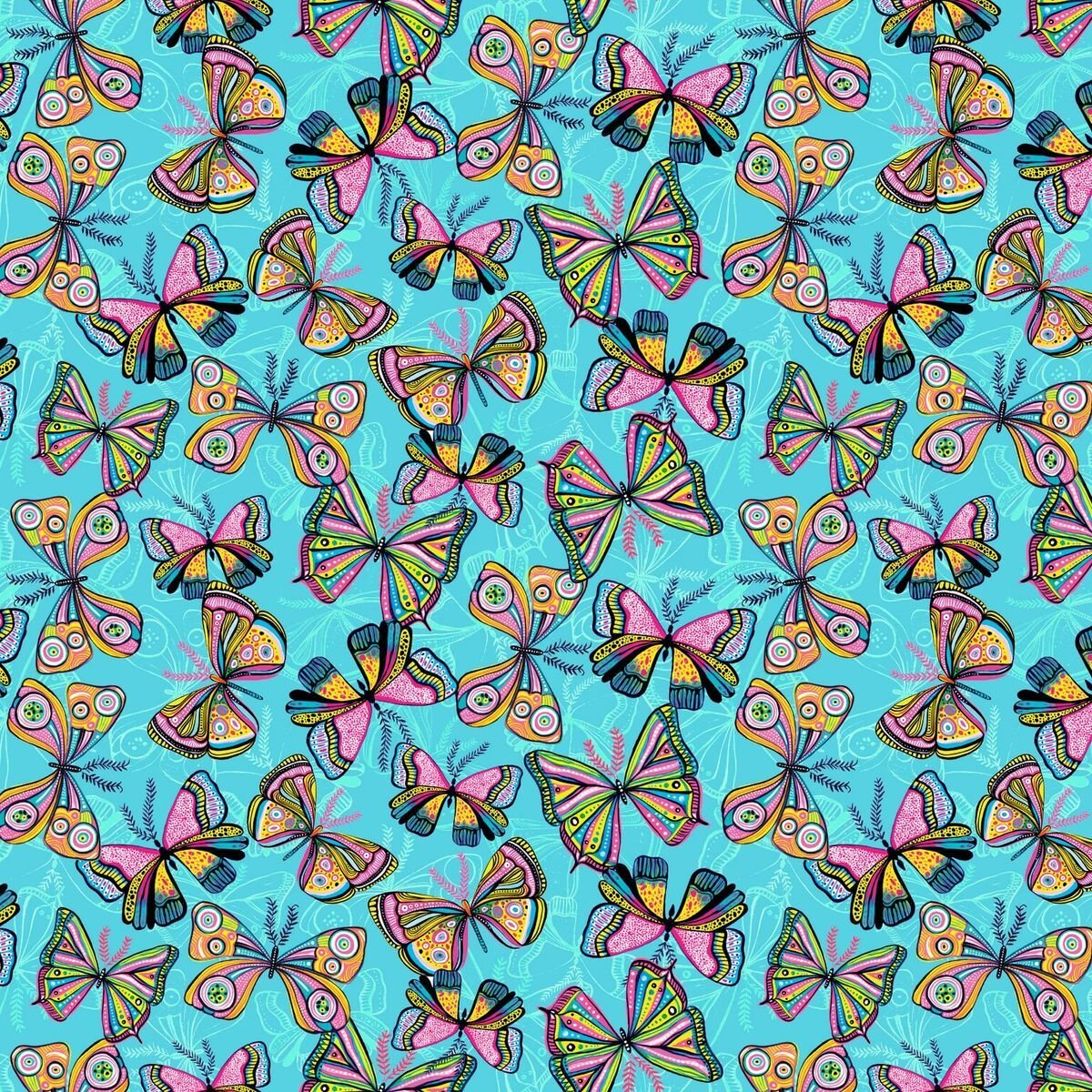 Butterfly 14648 Turqoise