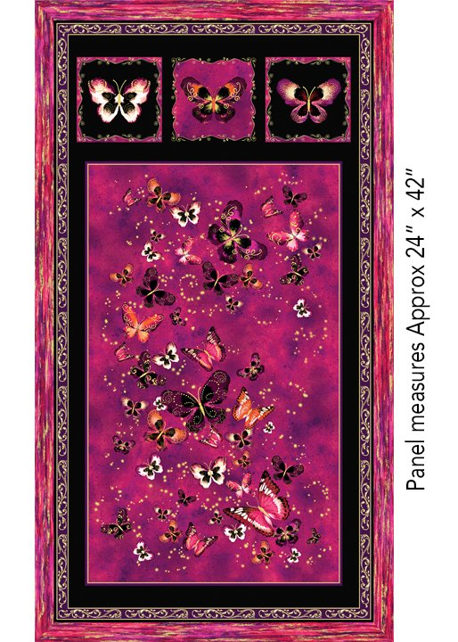 Butterfly Jewel 8859M-26 Panel