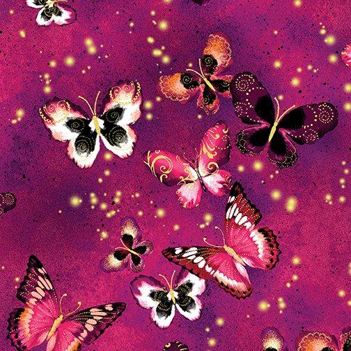 Butterfly Jewel 8860M-26 Fuchsia