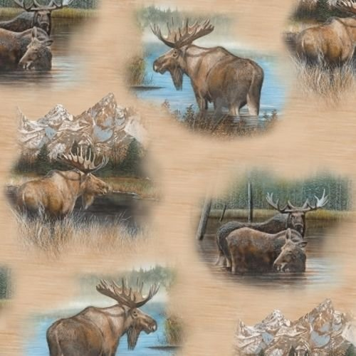 By Water's Edge Moose 26042-A