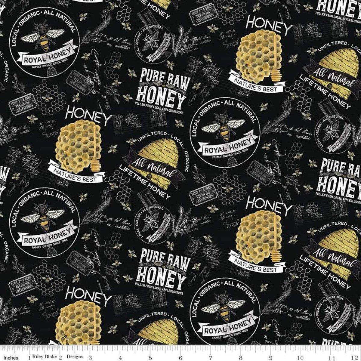 Bees Life C10100 Main Black