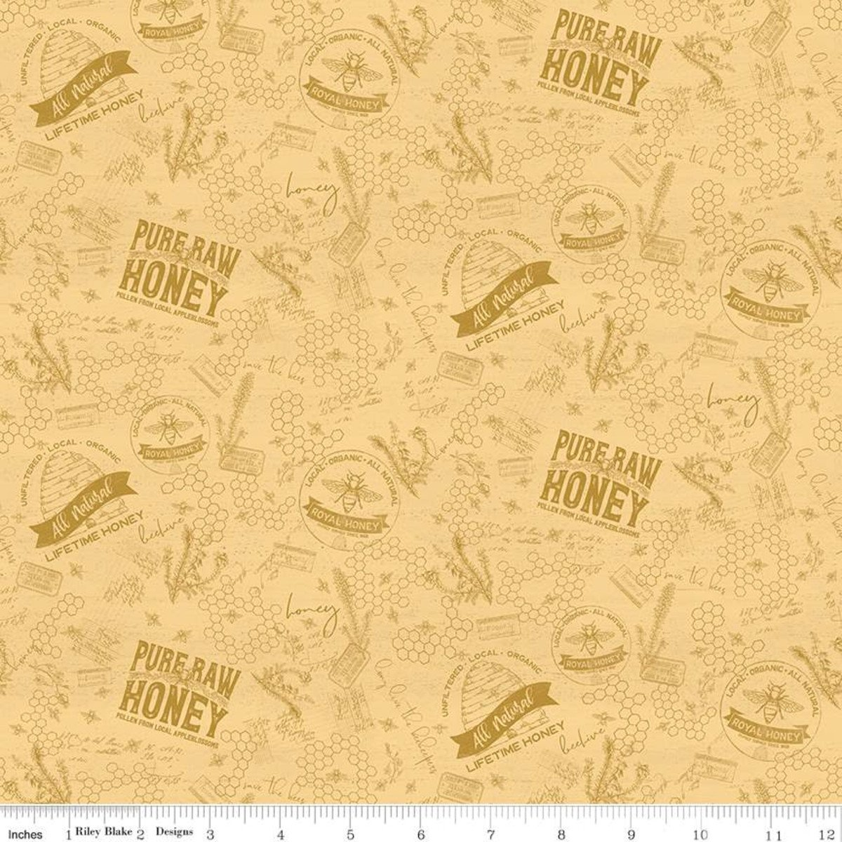 Bees Life C10102 Tonal Honey