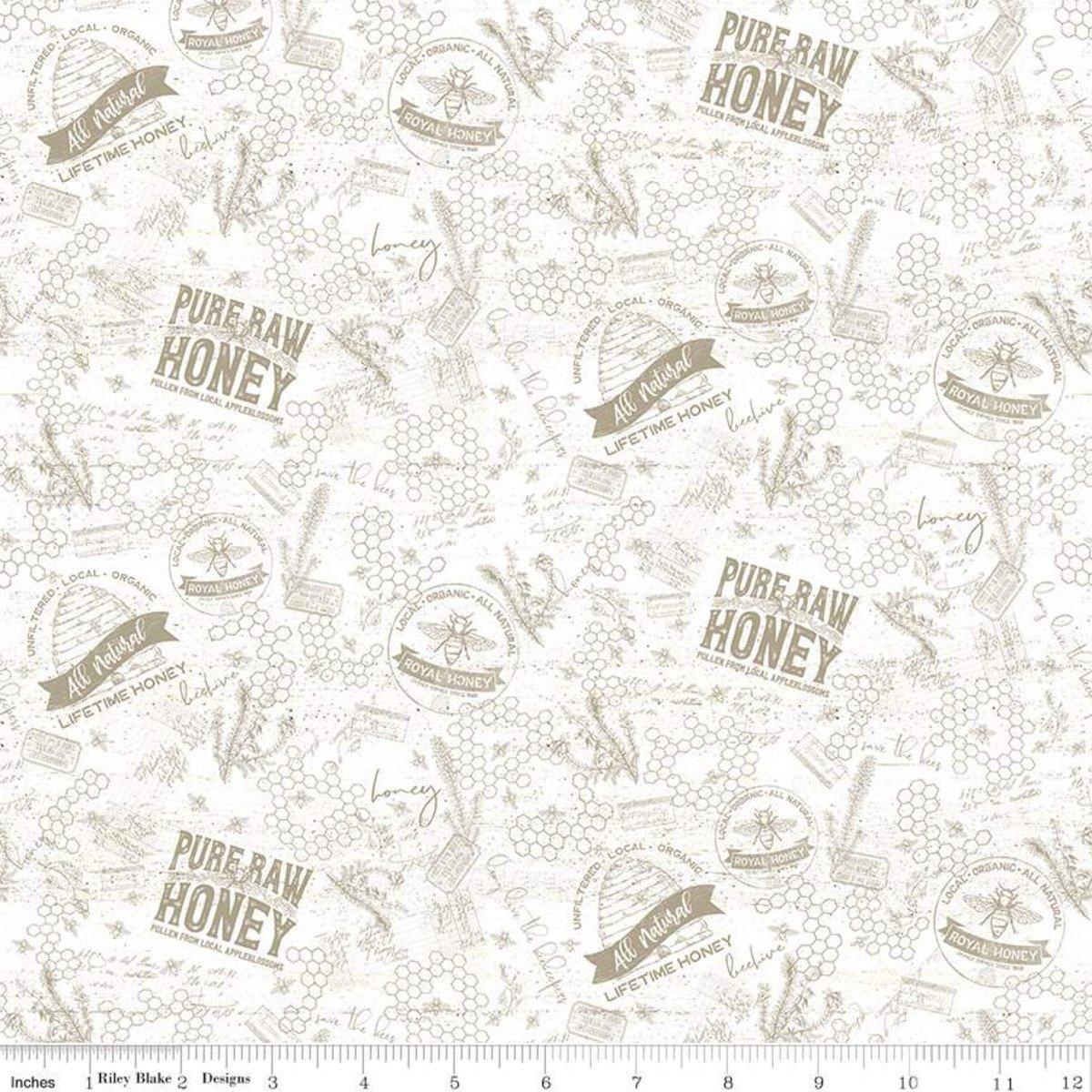Bees Life C10102 Tonal Parchment