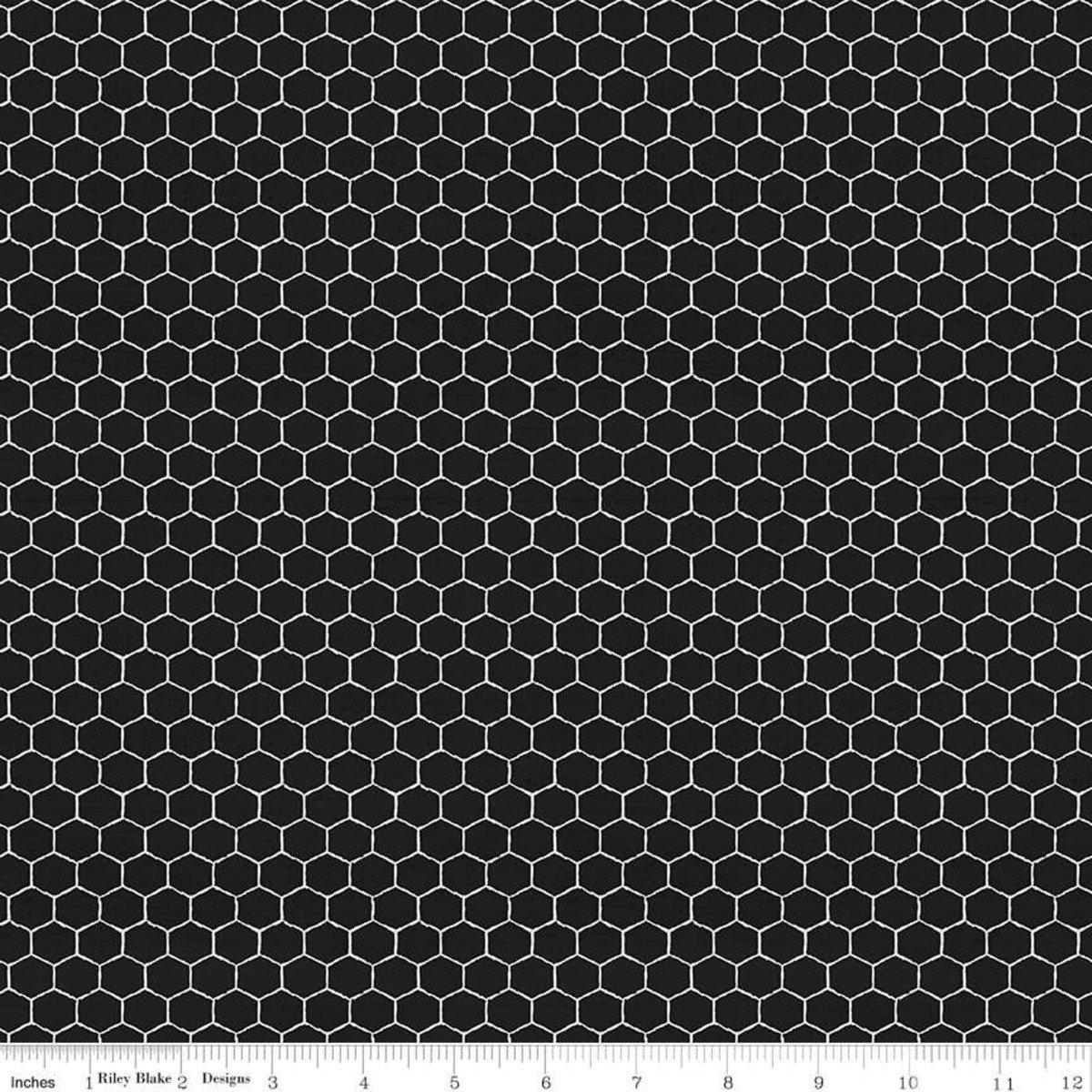 Bees Life C10104 Honeycomb Black