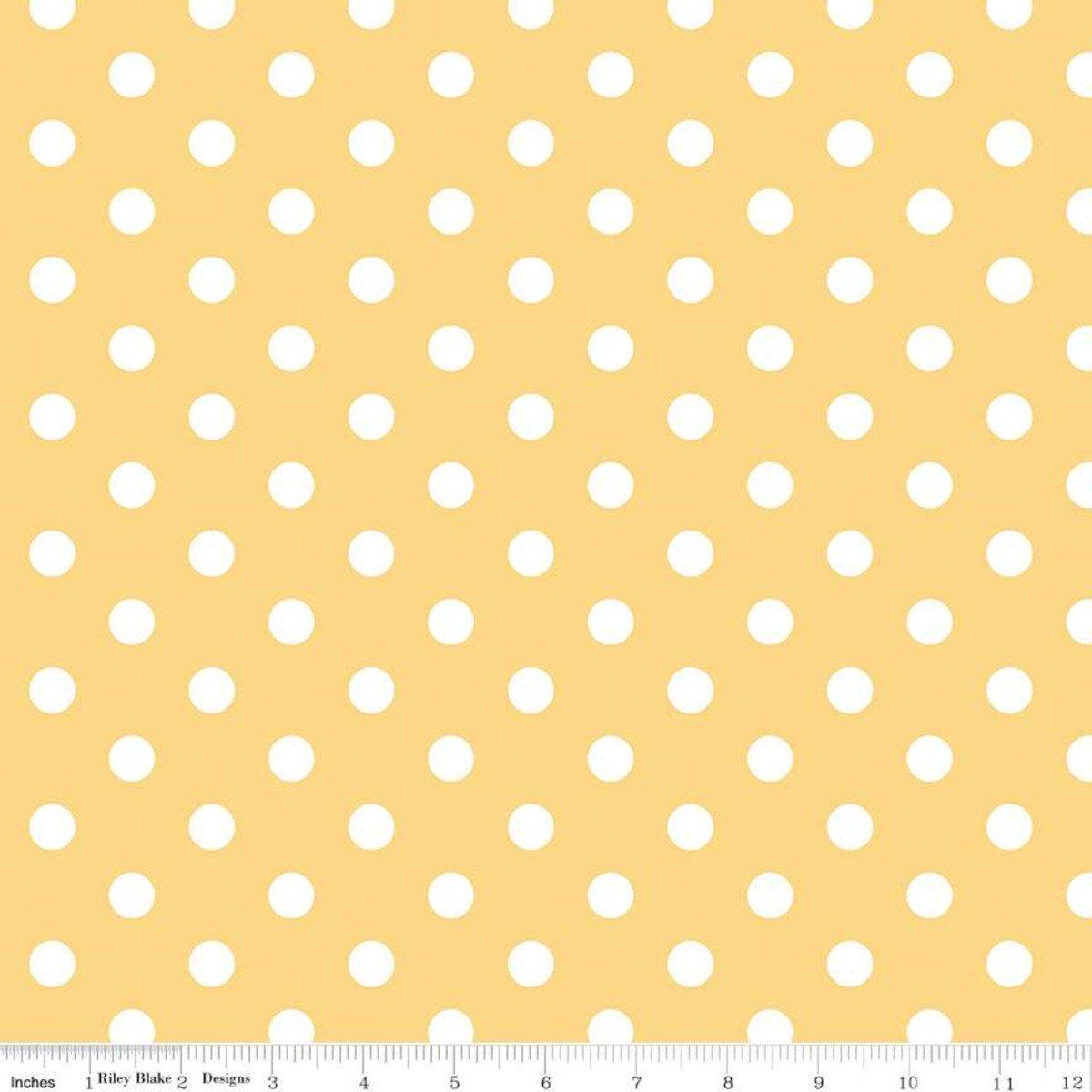 Notting Hill C10203 Dots Yellow
