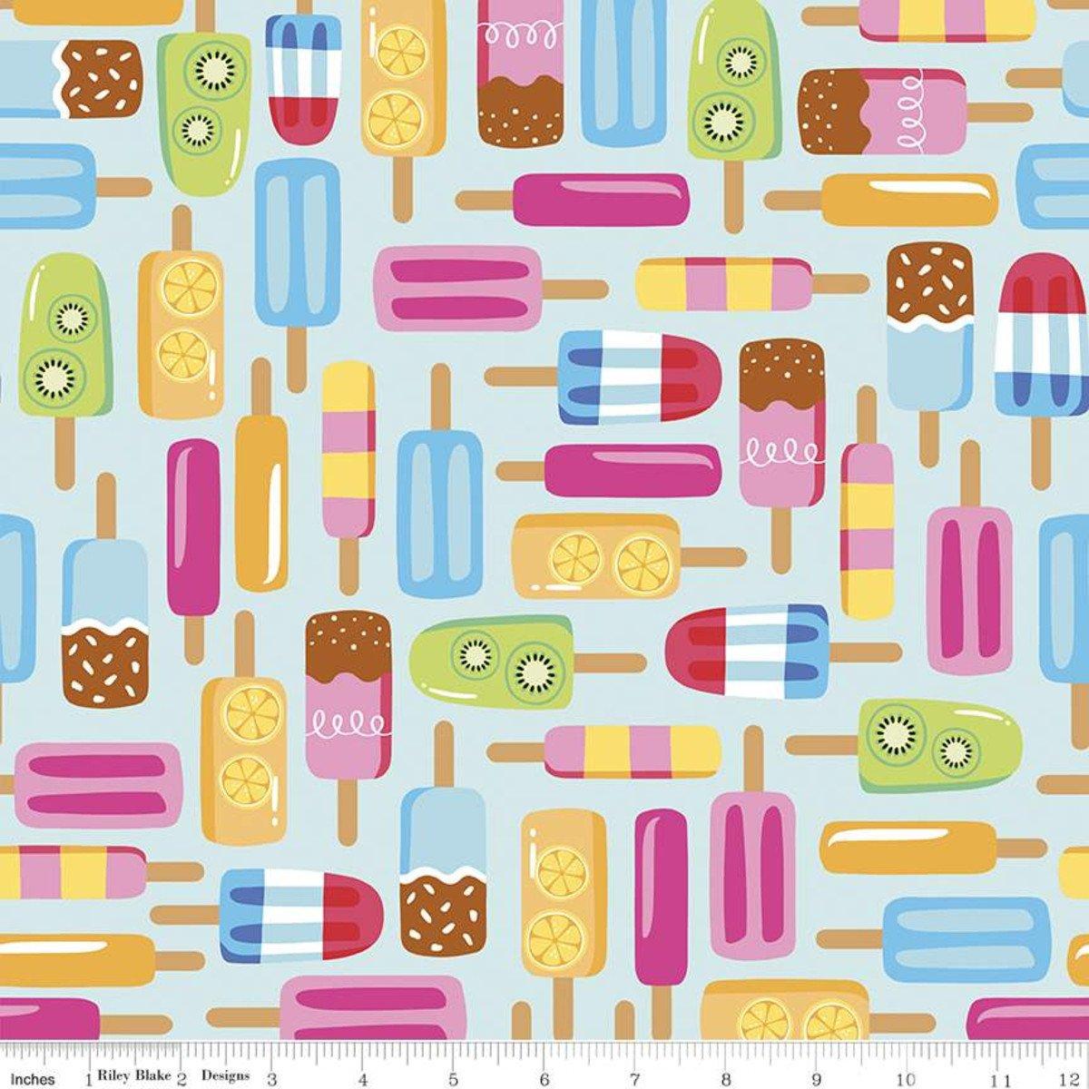 Rainbow C10890 Popsicles Aqua