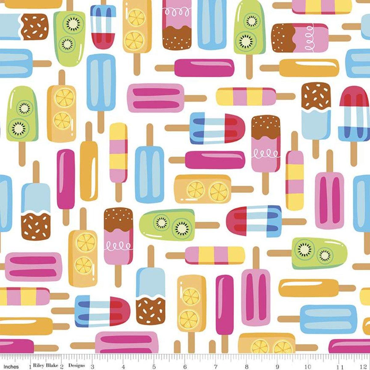 Rainbow C10890 Popsicles White