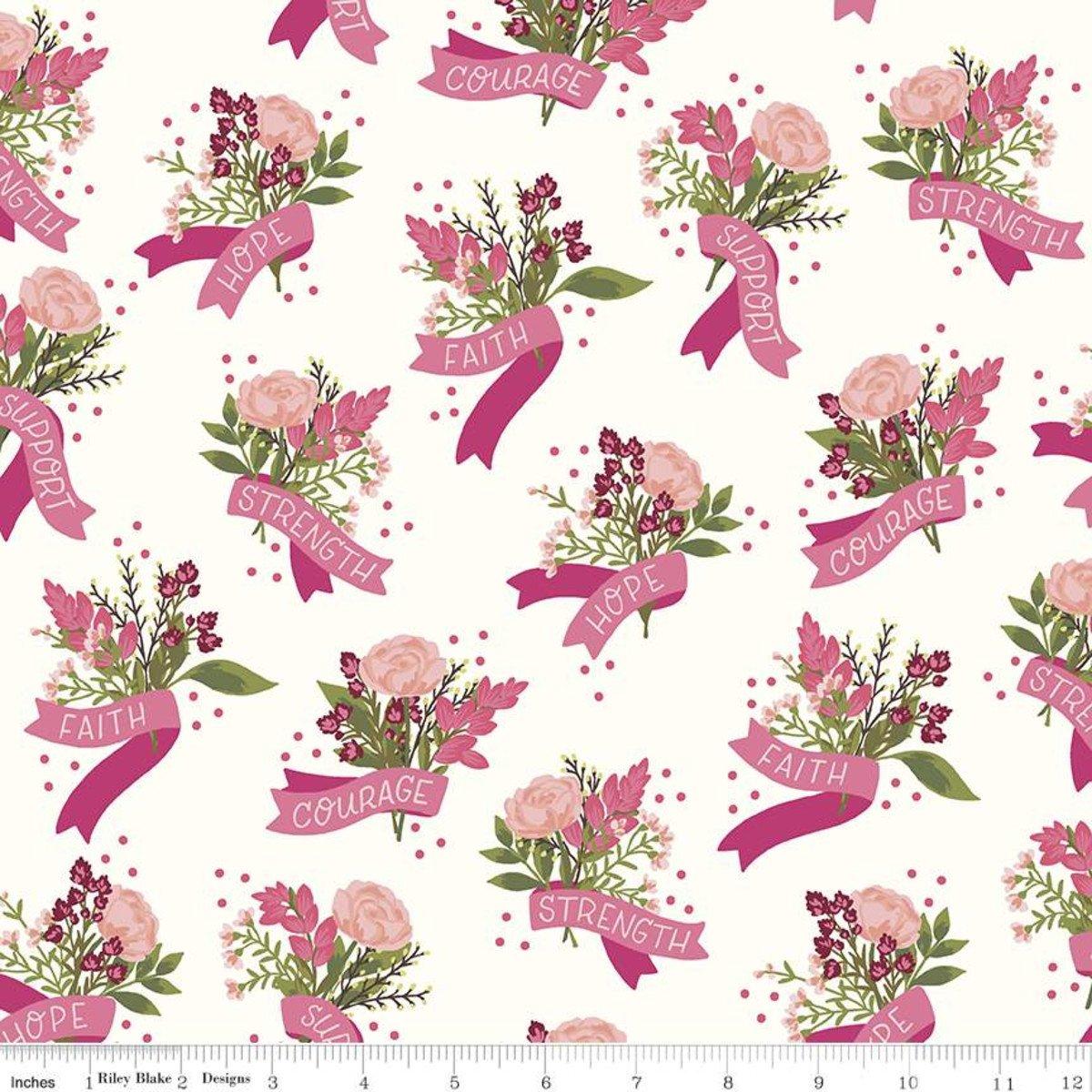 Hope In Bloom C11020 White