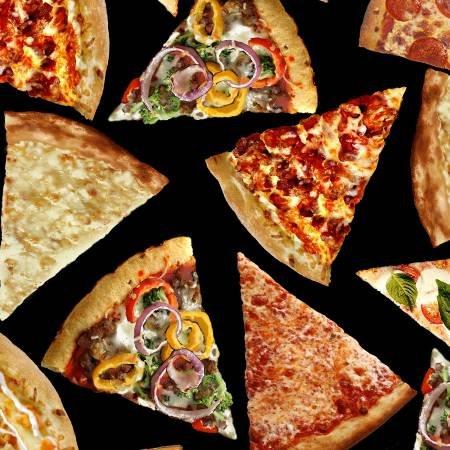 Food Pizza Slices C5640 Black