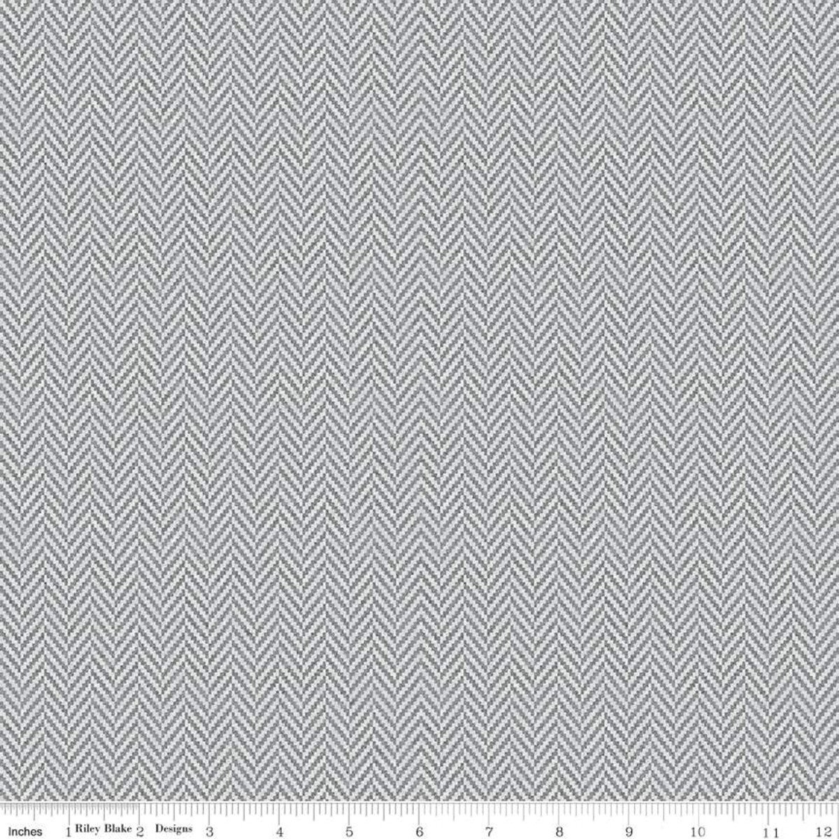 All About Plaids C636 Herringbone Gray