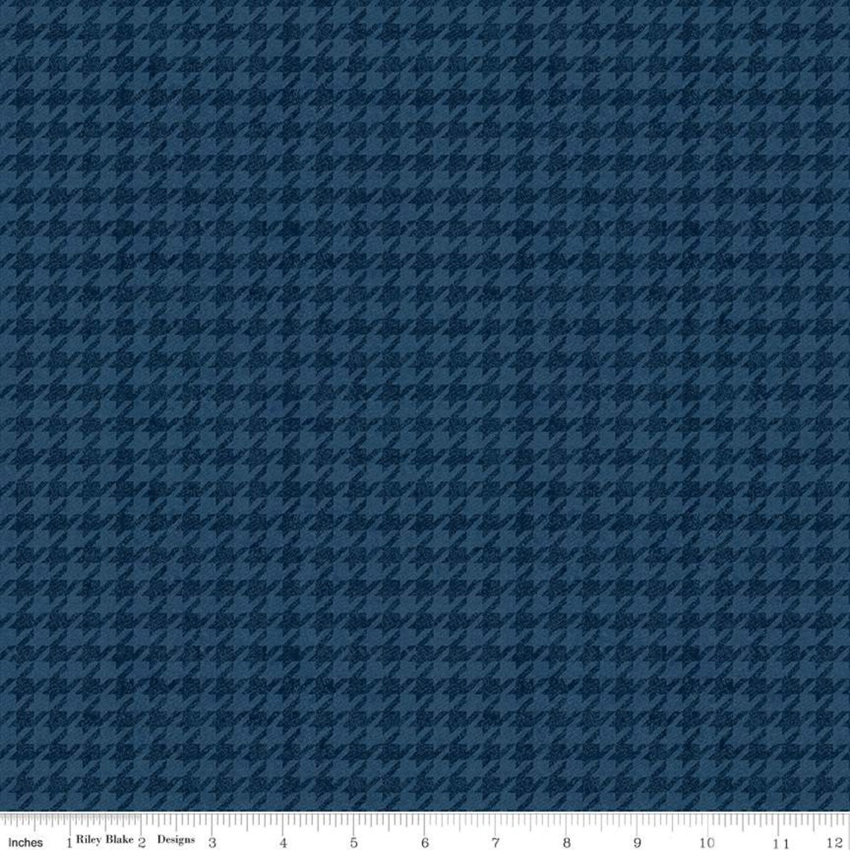 All About Plaids C637 Houndstooth Blue