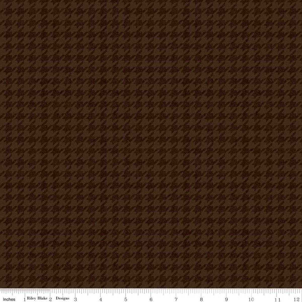 All About Plaids C637 Houndstooth Brown