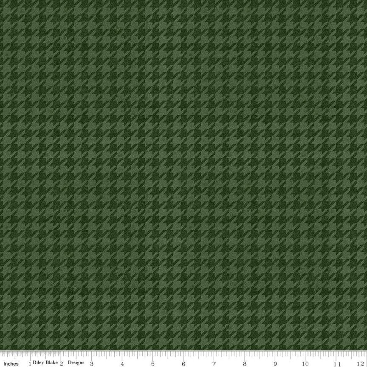 All About Plaids C637 Houndstooth Green
