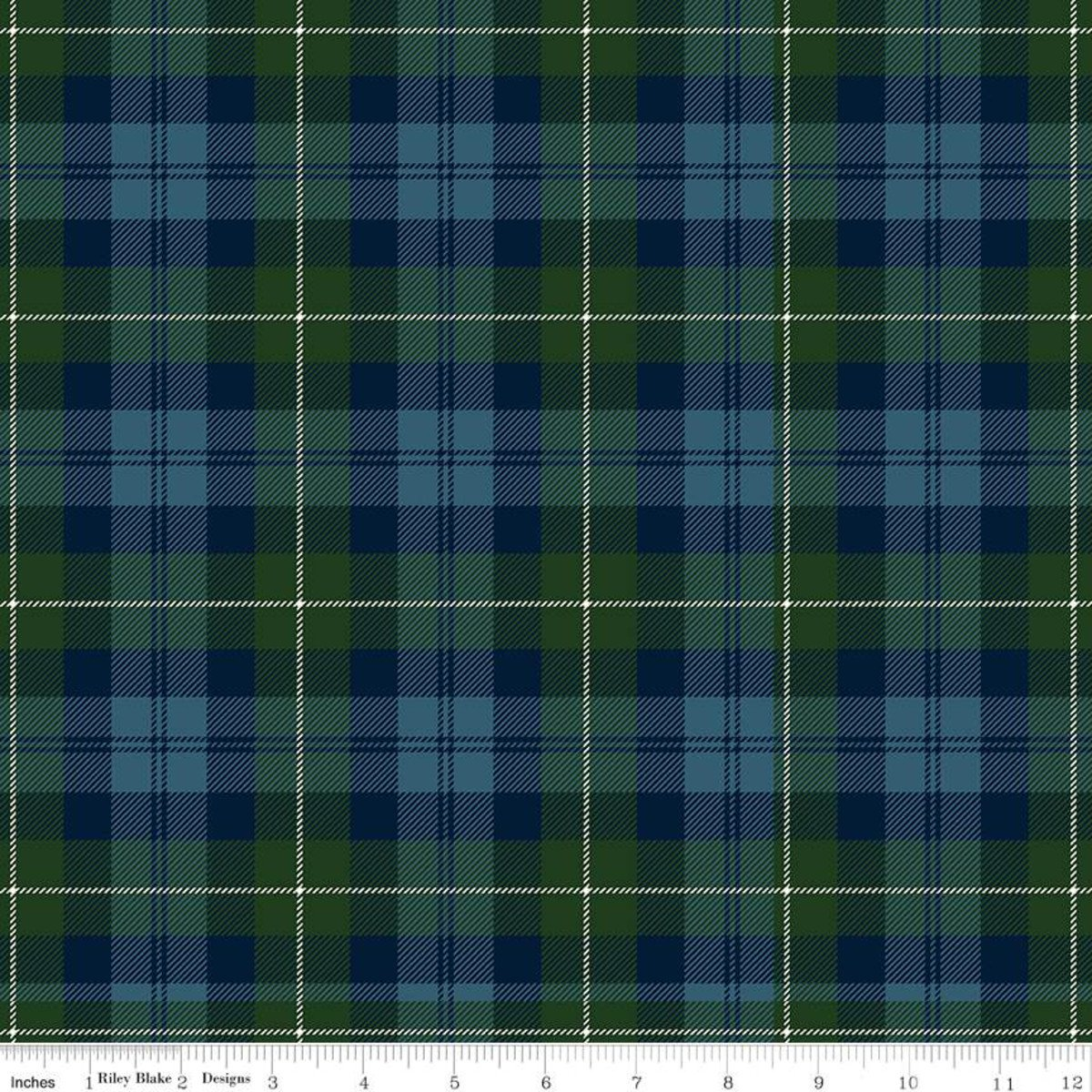 All About Plaids C638 Tartan Blue