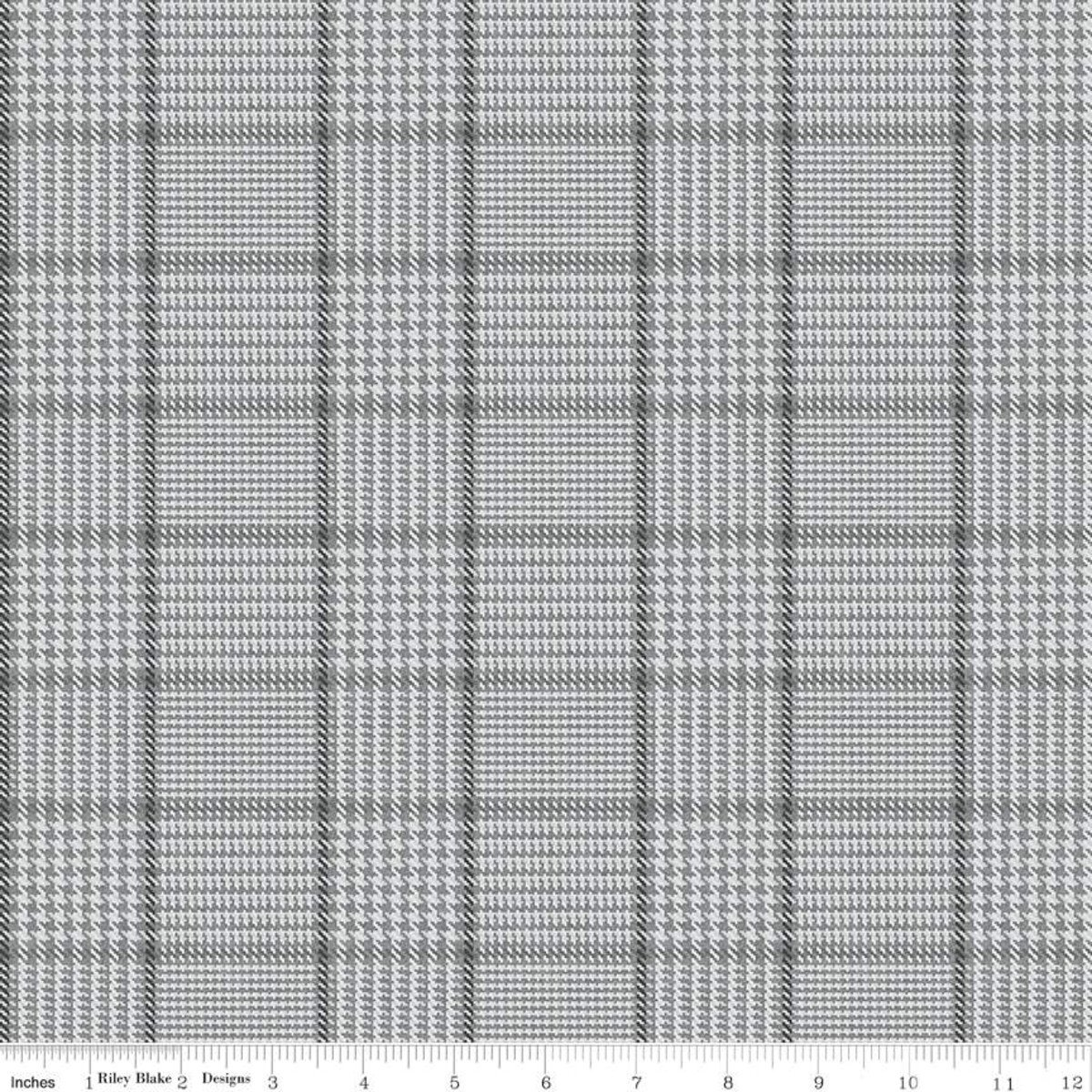 All About Plaids C639 Tweed Gray