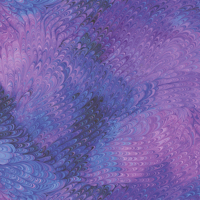 Plume C7728 Feathered Purple