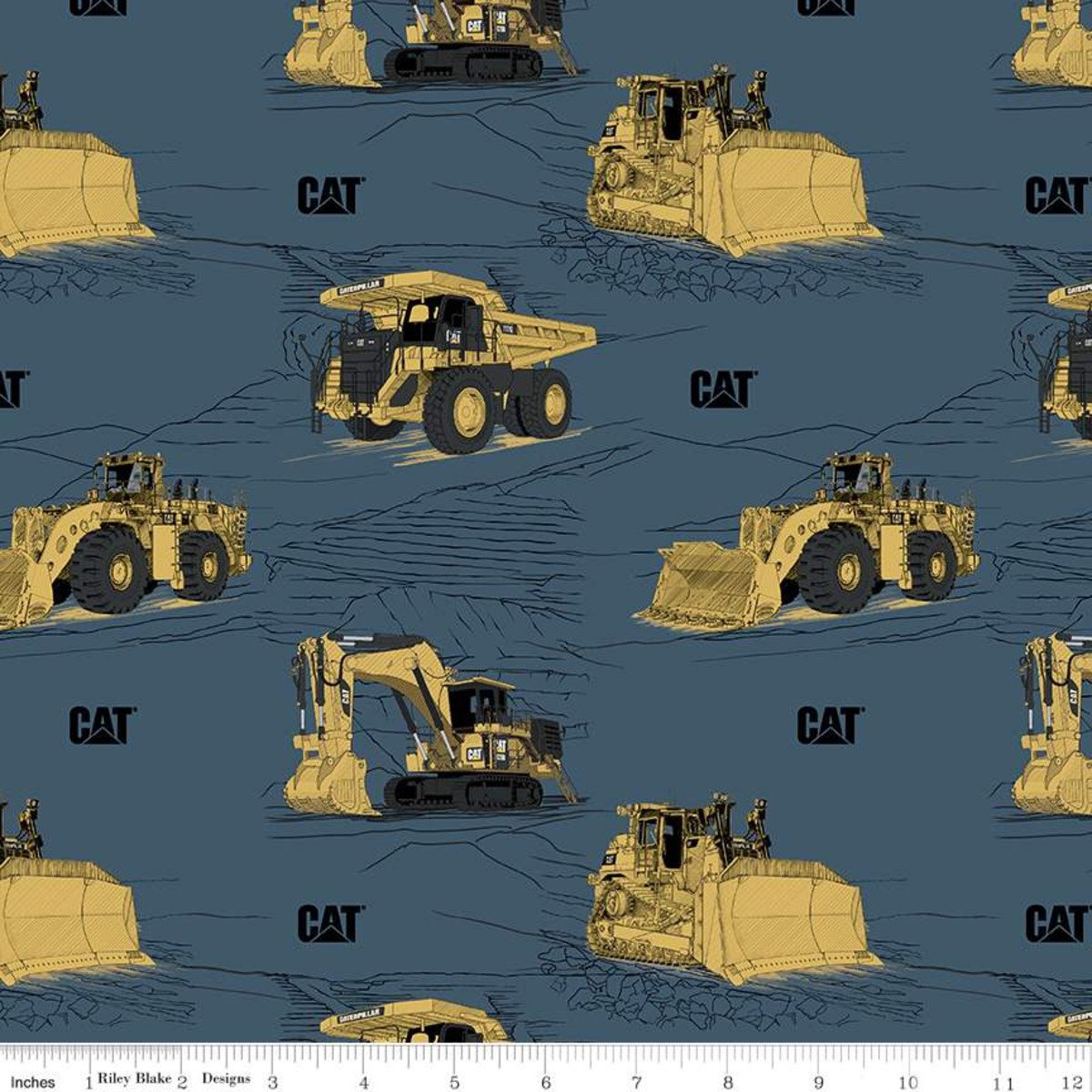 *EOB* CAT Caterpillar C9100 Blue - .47 YD