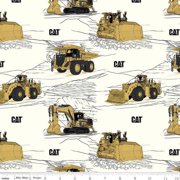 CAT Caterpillar C9100 White
