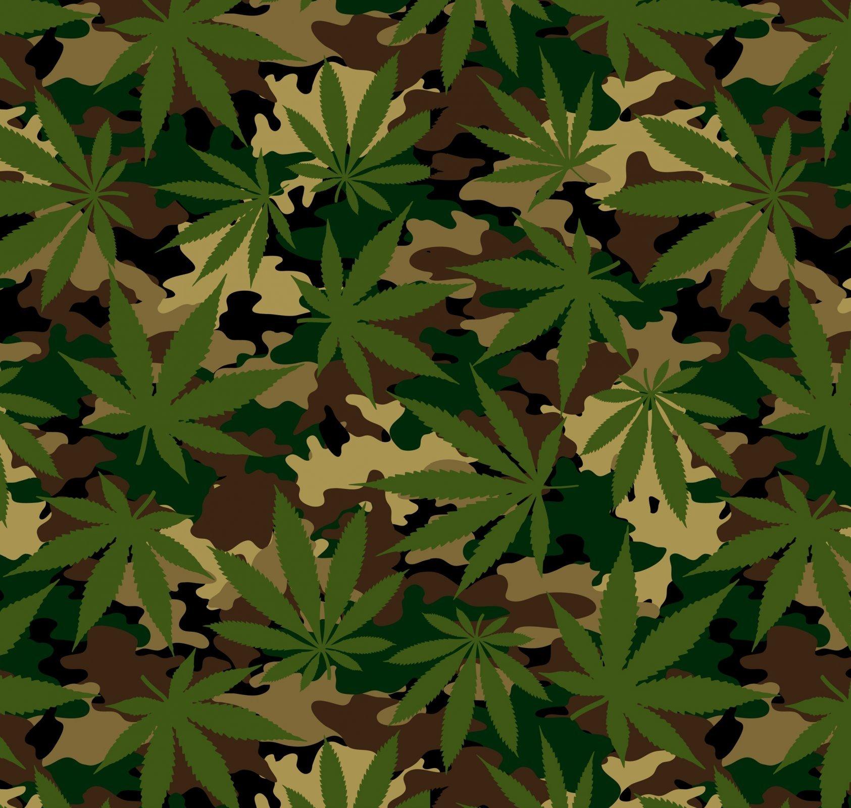 Cannabis 6364 Camo