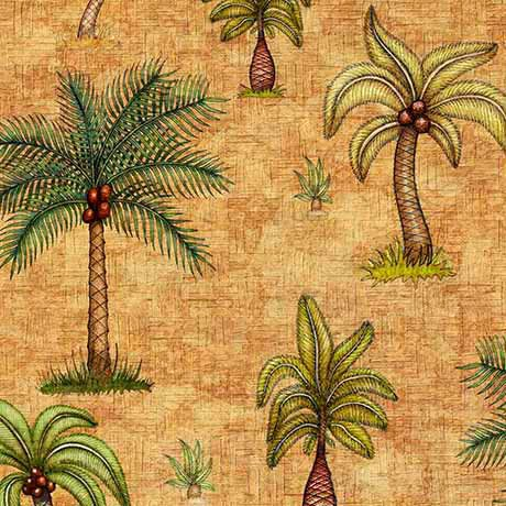 Caravan 26181S Palm Trees Tan