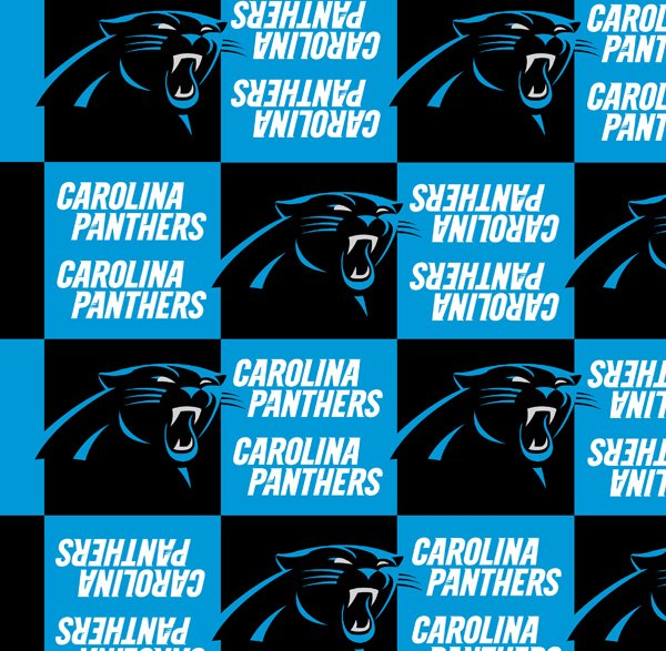 NFL Carolina Panthers 6399 Blocked Fleece