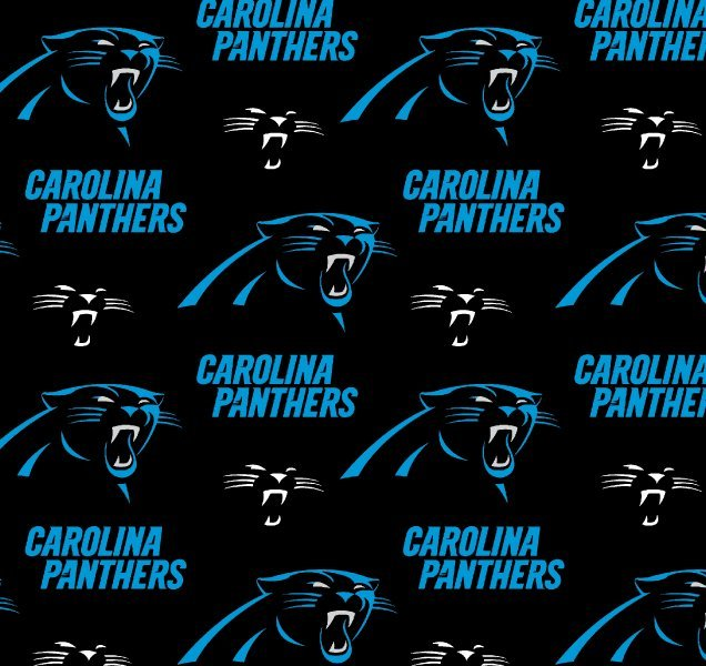 NFL Carolina Panthers 6401 Black
