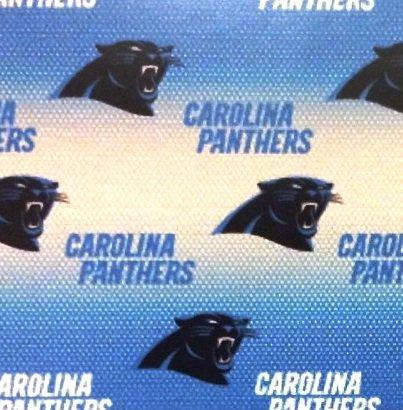 END OF BOLT NFL Carolina Panthers 6867 Blue - .51