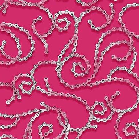 Chain Scroll 25767-V Pink