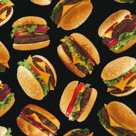 Cheeseburgers C6995 Black
