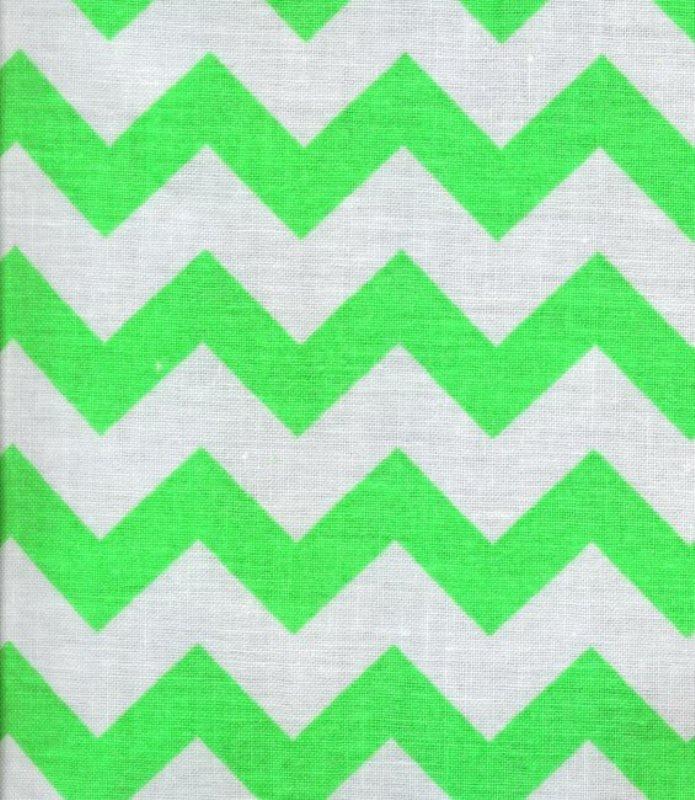 Chevron 48053 Lime Green