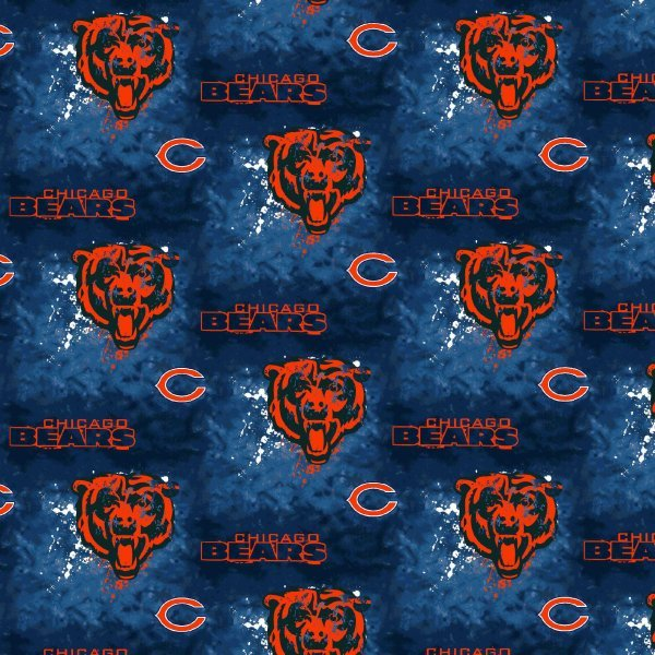 NFL Chicago Bears 6345 Tie Dye