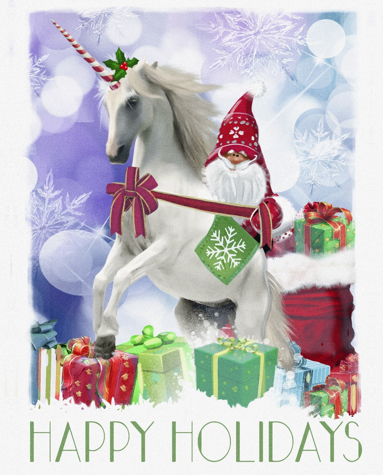 Christmas Unicorn 3793 Panel