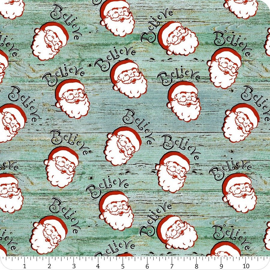 Christmas Memories 5256-11 Santa Heads